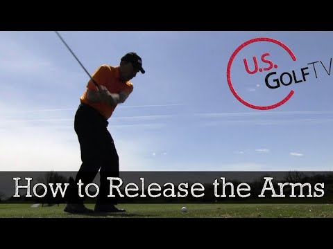 How to Release the Arms on the Downswing