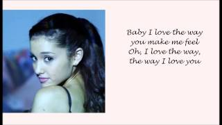 Ariana Grande ft. Mac Miller - The Way Lyric Video - Video Youtube