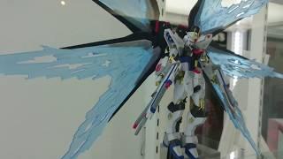 METALROBOT魂光の翼&ハイマットフルバーストエフェクトセット動画レビューINTAMASHIINATIONSAKIBAショールーム