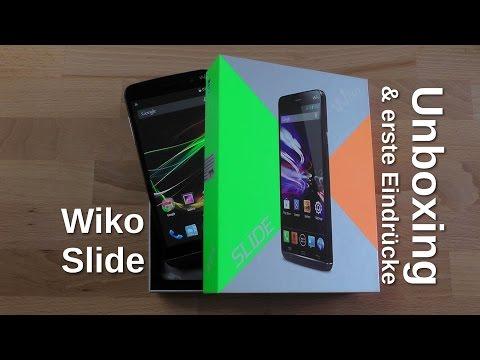 Wiko Slide Unboxing und erste Eindrücke - www.technoviel.de