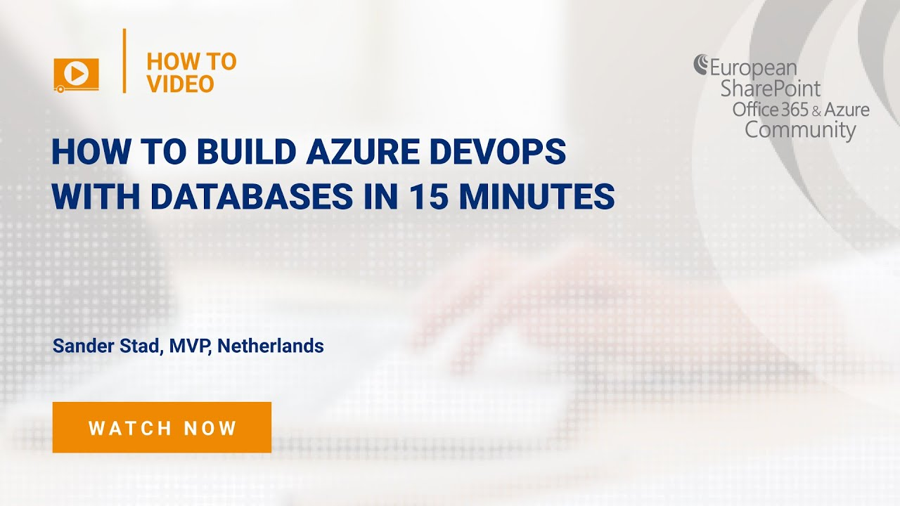 How To build Azure DevOps with Databases in 15 Minutes