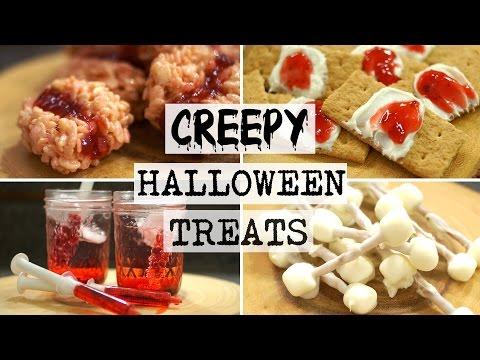 DIY Creepy Halloween Recipes