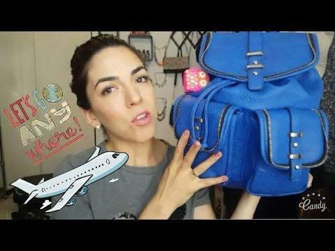 Que llevo en mi bolsa de mano Viaje a Europa