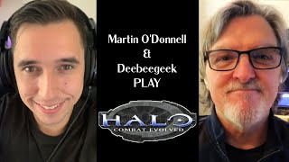 Martin O'Donnell PLAYS Halo Combat Evolved! - NEVER seen before commentary!