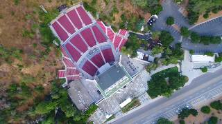 Los Angeles via Drone- The Greek Theater