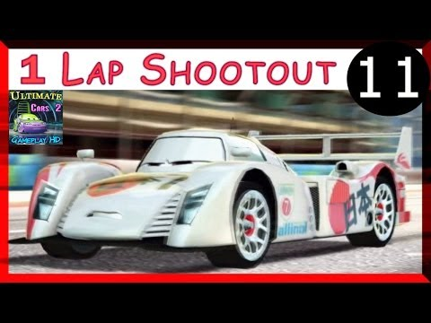 Shu Todoroki Cars 2 Hard Difficulty One Lap Shootout Race On Buckingham Sprint Part 11