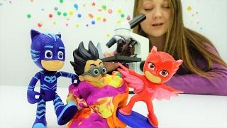 ГЕРОИ В МАСКАХ против злодеев! Видео с игрушками (игрушки из мультфильмов)! В городе ЭПИДЕМИЯ 😷 🔬 💉!