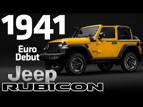 MOPAR designs Jeep Wrangler Rubicon 1941 | Debut in Europe | Geneva International Motor Show
