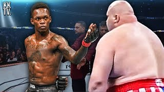 5 Unforgettable Israel Adesanya Matrix Moments in UFC! (2020)