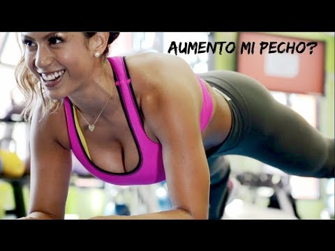 2 ejercicios para aumentar el pecho