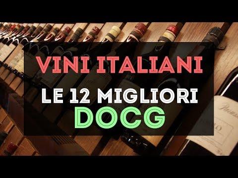 Vini Italiani: le 12 migliori DOCG