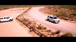 Toyota 4 Runner Limited In The Desert