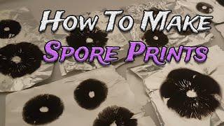 How To Create Mushroom Spore Prints