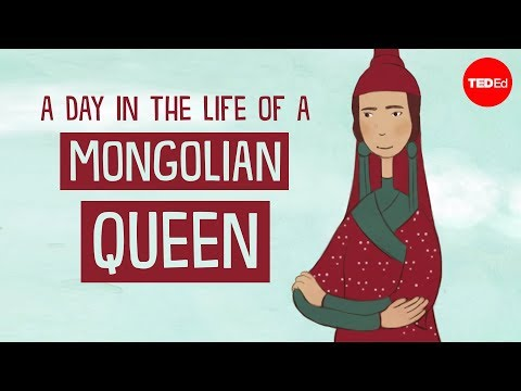 What a Mongolian Queen Does All Day