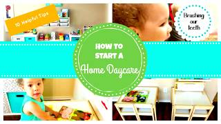 HOW TO START A HOME DAYCARE | 10 STEPS | WORK FROM HOME