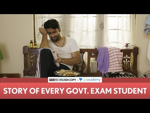 Video with Filtercopy GOVERNMENT EXAM PREPARATION