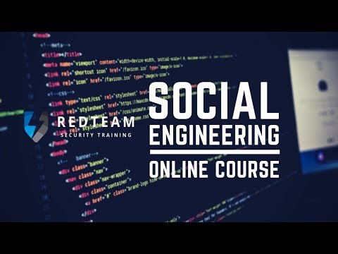 Social Engineering Expert Online Training Course