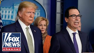 Trump, Mnunchin provide updates on relief for small businesses