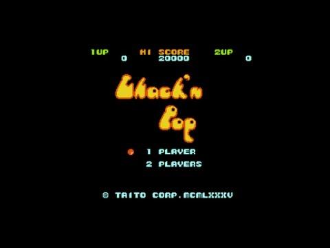 ファミコン ちゃっくんぽっぷ Chack'n Pop