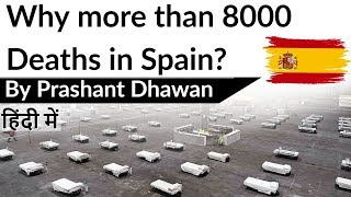 Why more than 8000 Deaths in Spain? Current Affairs 2020 #UPSC
