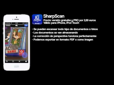0 SharpScan Pro, un escáner de documentos para el iPhone
