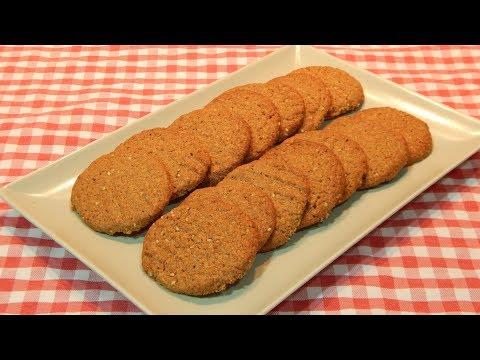 Cómo hacer galletas integrales muy crujientes