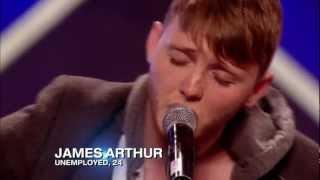 James Arthur's audition cut - The X Factor UK 2012