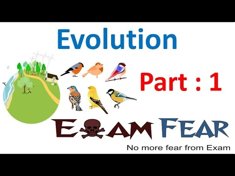 Biology Evolution part 1 (Introduction) class 12 XII