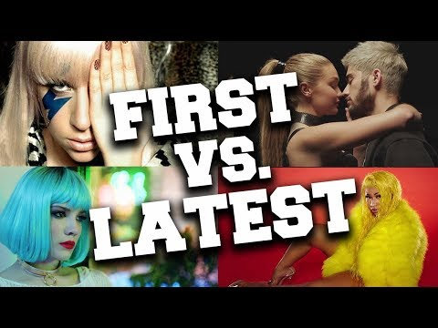 Artists with Their First and Latest Songs #3