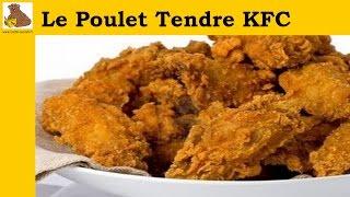 Le poulet tendre KFC (recette rapide et facile) HD
