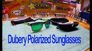 Dubery Sunglasses mens sunglasses polarized ebay cheap unboxing and review