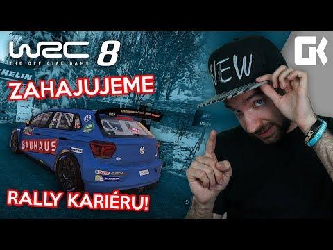 ZAHAJUJEME RALLY KARIÉRU! | WRC 8 #02