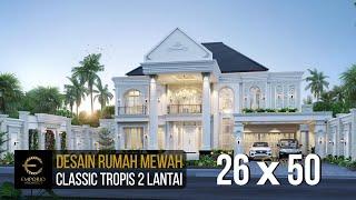 Video Desain Rumah Classic 2 Lantai Bapak Mubin di  Bengkulu