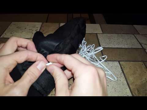 DIY Glove Wrist Straps