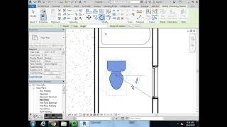 Canon-McMillan Revit Floor Plan #2   Bathroom Fixtures