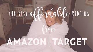 Favorite Bedding From Amazon, Target, Big Lots, Sams Club, Roca Home Newplaids // FARMHOUSE