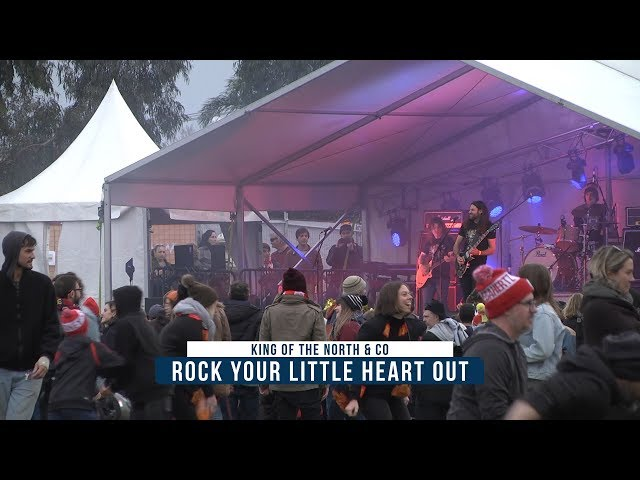 Malcolm Young Tribute Rock Your Little Heart Out Live 2018 Melbourne Community Cup