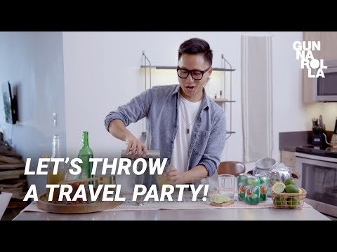 Travel Party! Easy Cocktail & Dips Recipes with 7UP