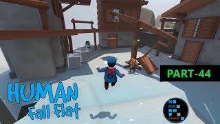 Human: Fall Flat | Amazing New Ice Map Fun Gameplay (PART-44)