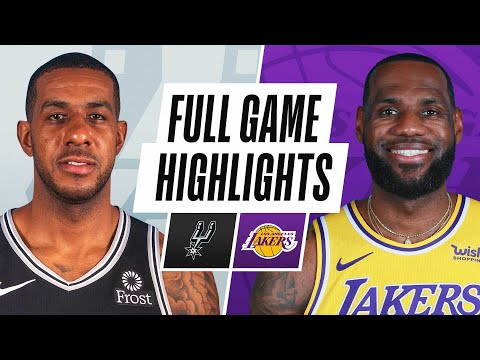 SPURS at LAKERS | FULL GAME HIGHLIGHTS | January 7, 2021