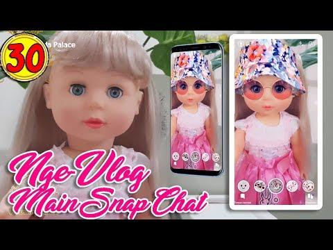 30 belinda nge-vlog main snap chat - boneka walking doll cantik lucu -7l  belinda palace f1a4b4cd48
