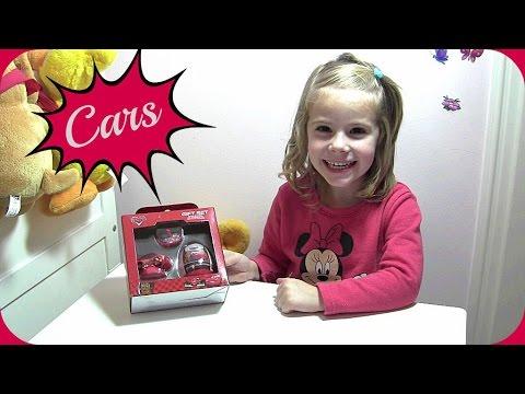 Geschenk-Set Cars Unboxing mit Überraschungsei ♥ Disney Pixar Cars Gift Set