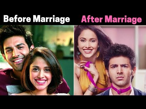 boys situation before and after marriage bollywood songs