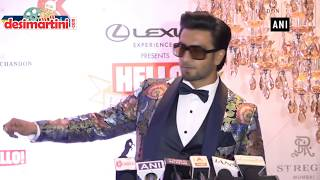 Ranveer Singh reveals the secret to his energy