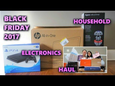 BLACK FRIDAY HAUL 2017 | ELECTRONICS & HOUSEHOLD | PS4, HP DESKTOP, DYSON VACUUM