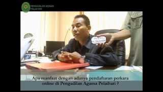 Video inovasi pendaftaran perkara online Pengadilan Agama Pelaihari