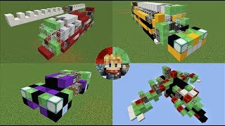 The ghast missile tutorial minecraft slime block mob missileps 10 transportation themed slime block robots world downloads how to use 112 ccuart Image collections