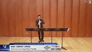 Nabil SARRATE plays Mysterious Morning by F. Tanada #adolphesax