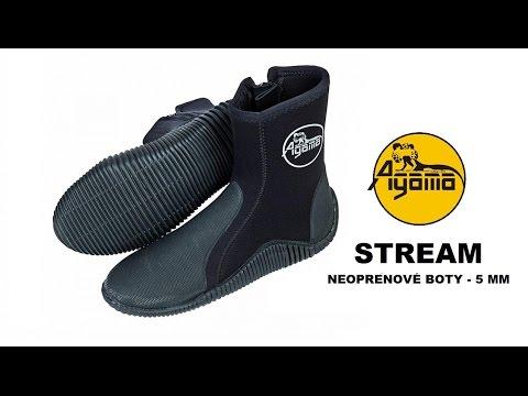 Neoprénové topánky AGAMA Stream 5 mm. -5% 9cfbdec3771