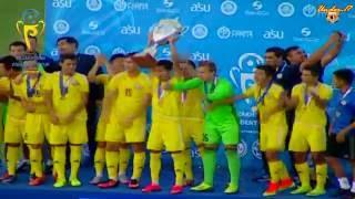 Сборная Казахстана U-17 победитель кубка президента 2016